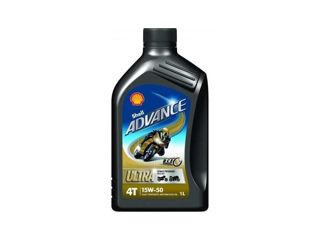 Shell Advance Ultra 4T 15W50