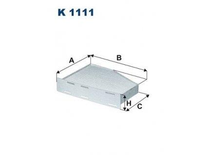 Filtron K1111  1Ks