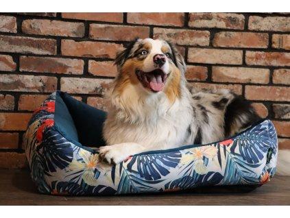 Útulný pelech pro psa Dario Tropic