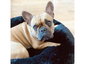 Útulný plyšové pelišek pro psa nebo kočku Fuzzy