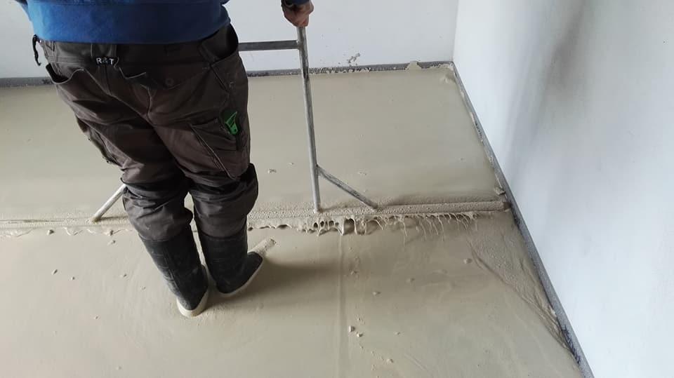 Anhydritové podlahy Brno