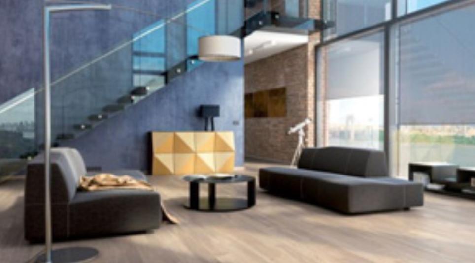 Jak opticky zvětšit nebo zmenšit místnost pomocí podlahy?
