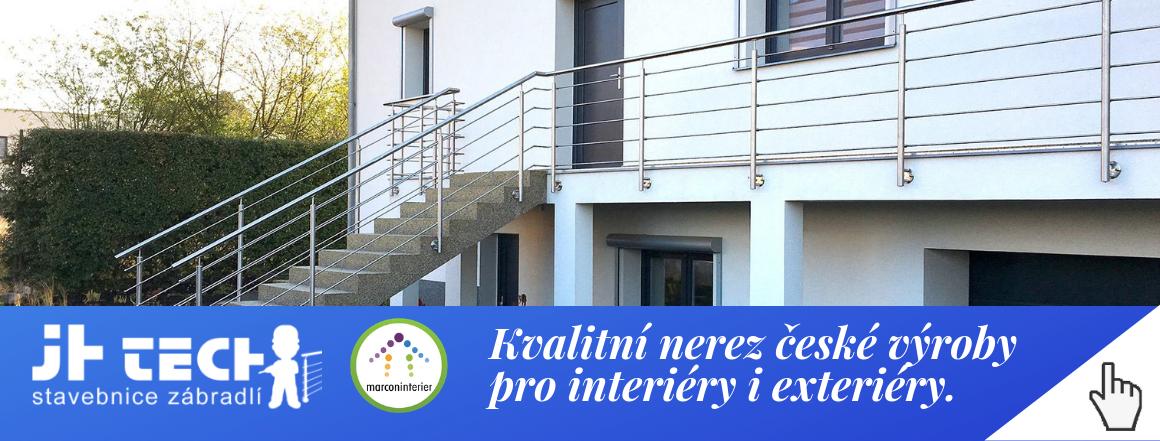 Kvalitní nerez české výroby pro interiéry i exteriéry