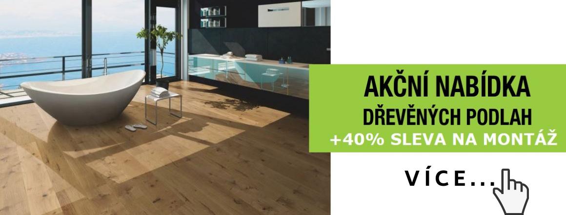 Akční nabídka dřevěných podlah