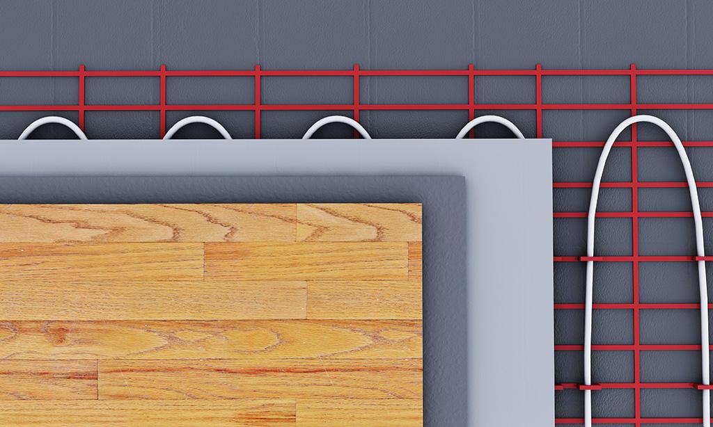 Nejvhodnější podlaha pro podlahové topení