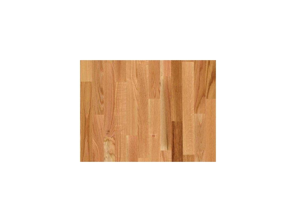 Dřevěná podlaha - Dub červený struktur lak (Scheucher) - dvouvrstvá