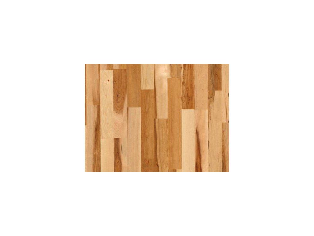 Dřevěná podlaha - Javor kanadský struktur lak (Scheucher) - dvouvrstvá
