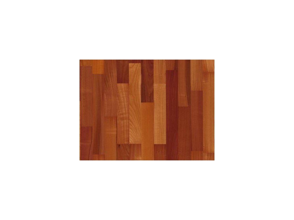 Dřevěná podlaha - Třešeň evropská pařená struktur lak (Scheucher) - dvouvrstvá