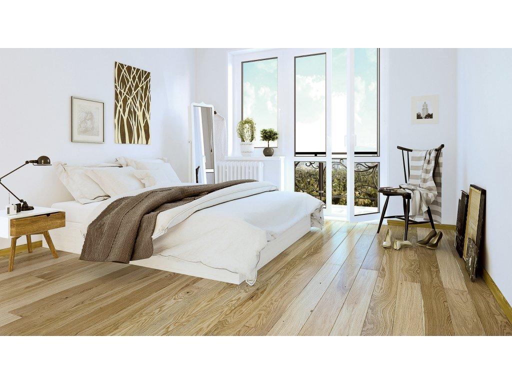 Dřevěná podlaha - Dub Askania Piccolo (Barlinek) - třívrstvá