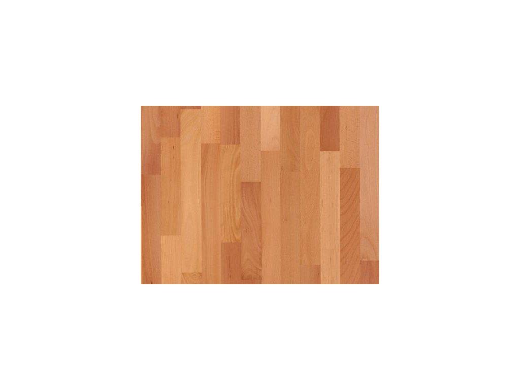 Dřevěná podlaha - Buk pařený natur lak (Scheucher) - dvouvrstvá