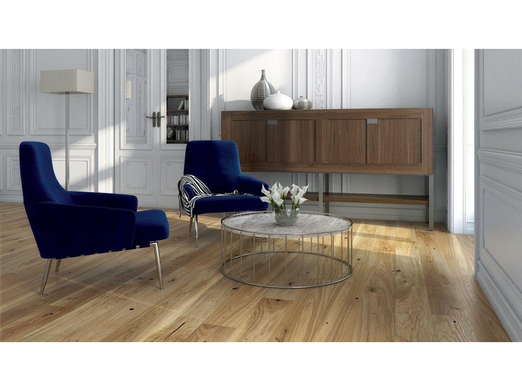 Dřevěná podlaha - Dub Raisins Grande (Barlinek) - třívrstvá