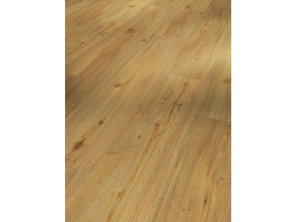 Plovoucí vinylová podlaha - Dub přírodní, struktura dřeva, 4-V-drážka (1730552)