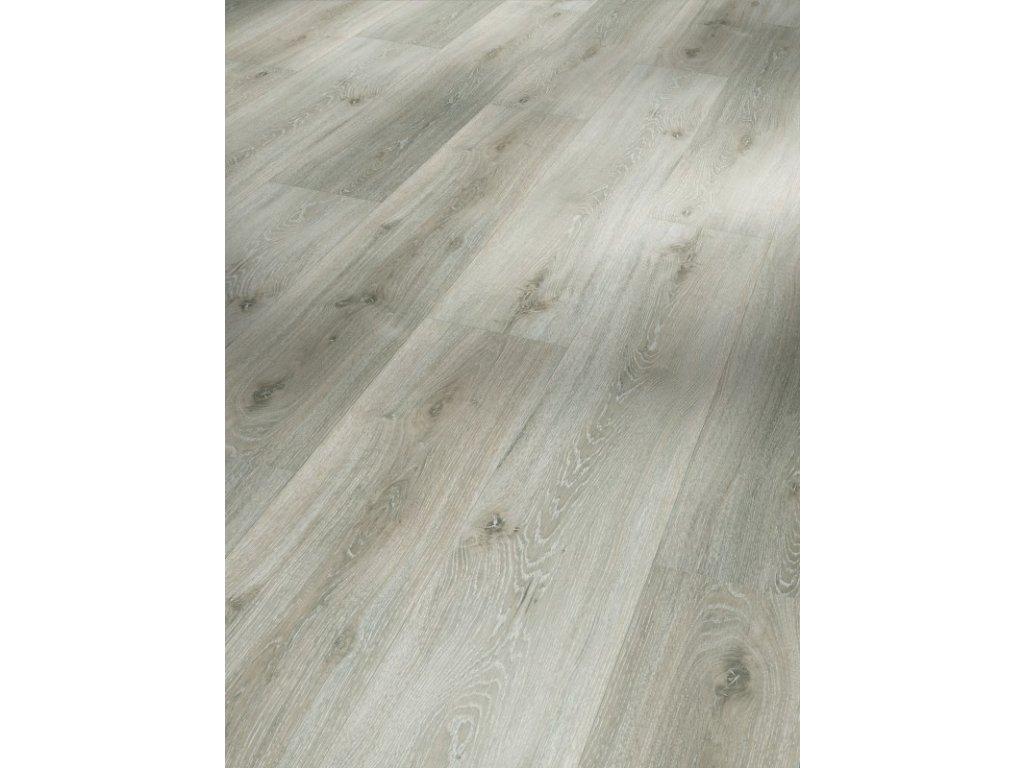 Plovoucí vinylová podlaha - Dub Royal bílý bělený, kartáčovaná struktura 1513465 (Parador)