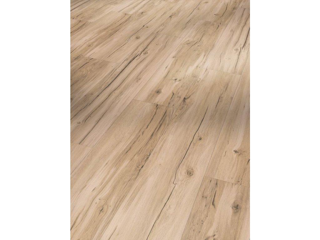 Plovoucí vinylová podlaha - Dub Memory broušený, kartáčovaná struktura, 1590992 (Parador)