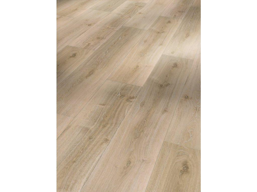 Plovoucí vinylová podlaha Dub Royal světle bělený, kartáčovaná struktura 1601398 (Parador)