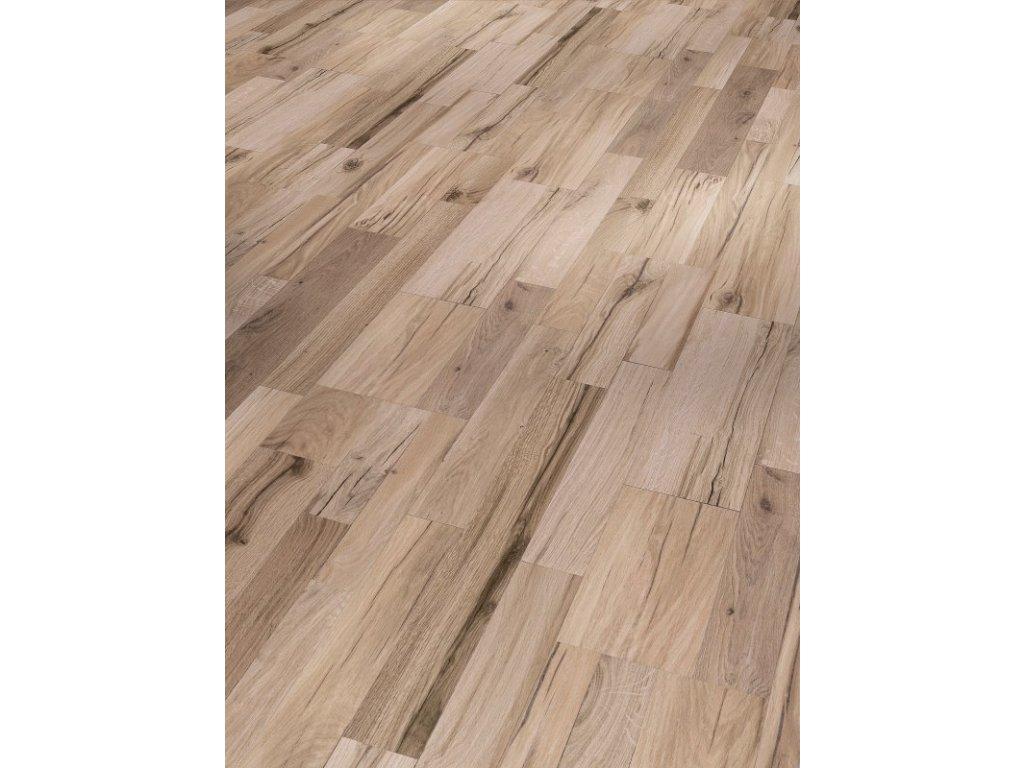 Plovoucí vinylová podlaha - Dub Variant broušený, kartáčovaná struktura 1590990 (Parador)