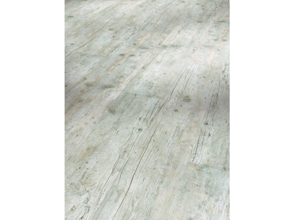 Plovoucí vinylová podlaha - Přestárlé dřevo bílené, kartáčovaná struktura 1513565 (Parador)