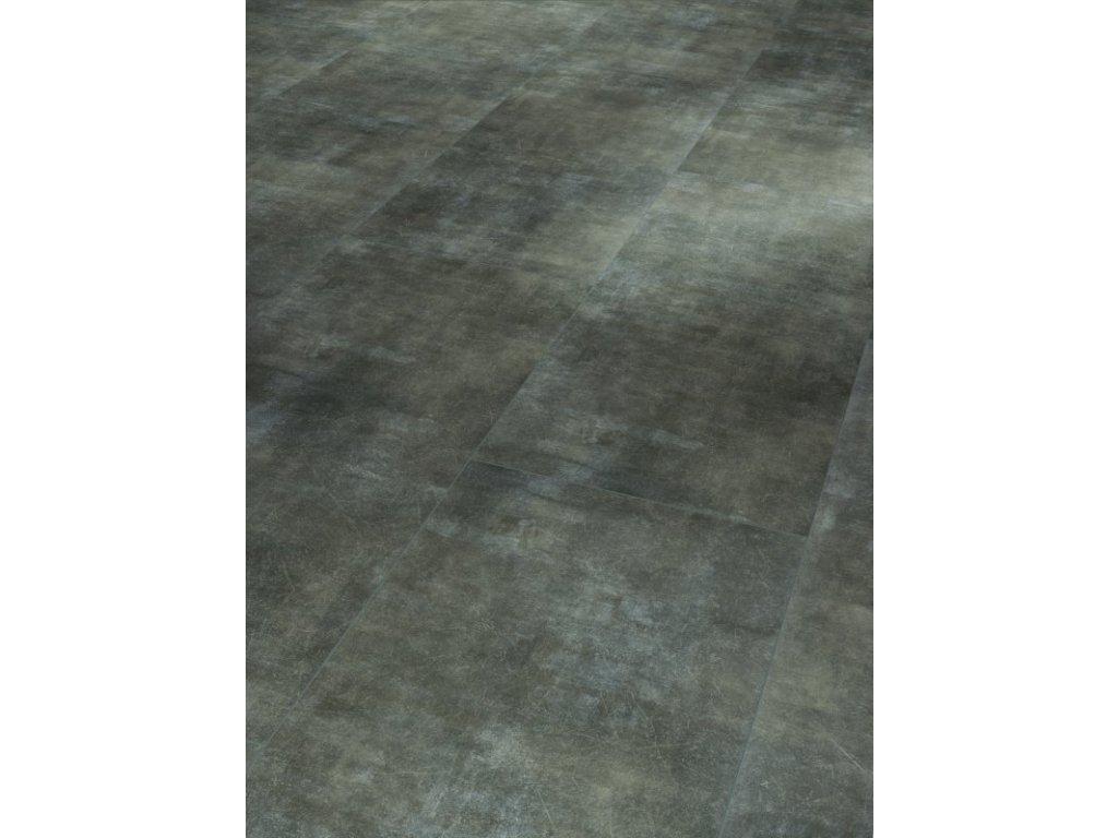 Plovoucí vinylová podlaha - Mineral black, struktura minerální, 4-V-drážka 1602136 (Parador)
