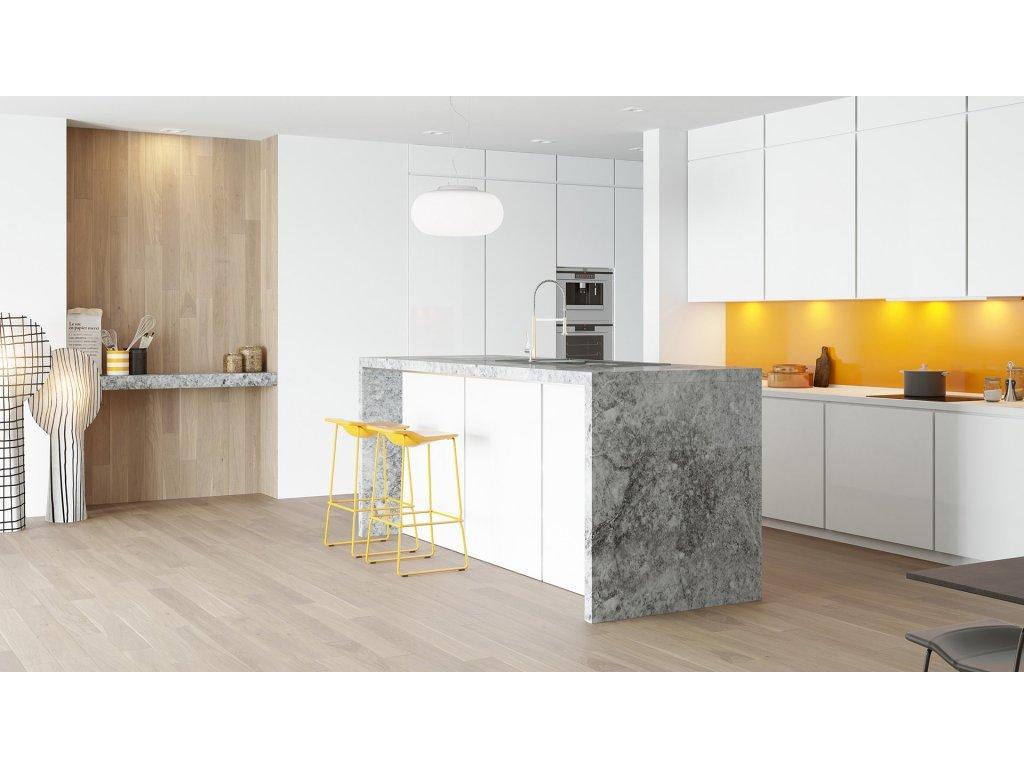 Dřevěná podlaha - Dub Coconut Piccolo (Barlinek) - třívrstvá