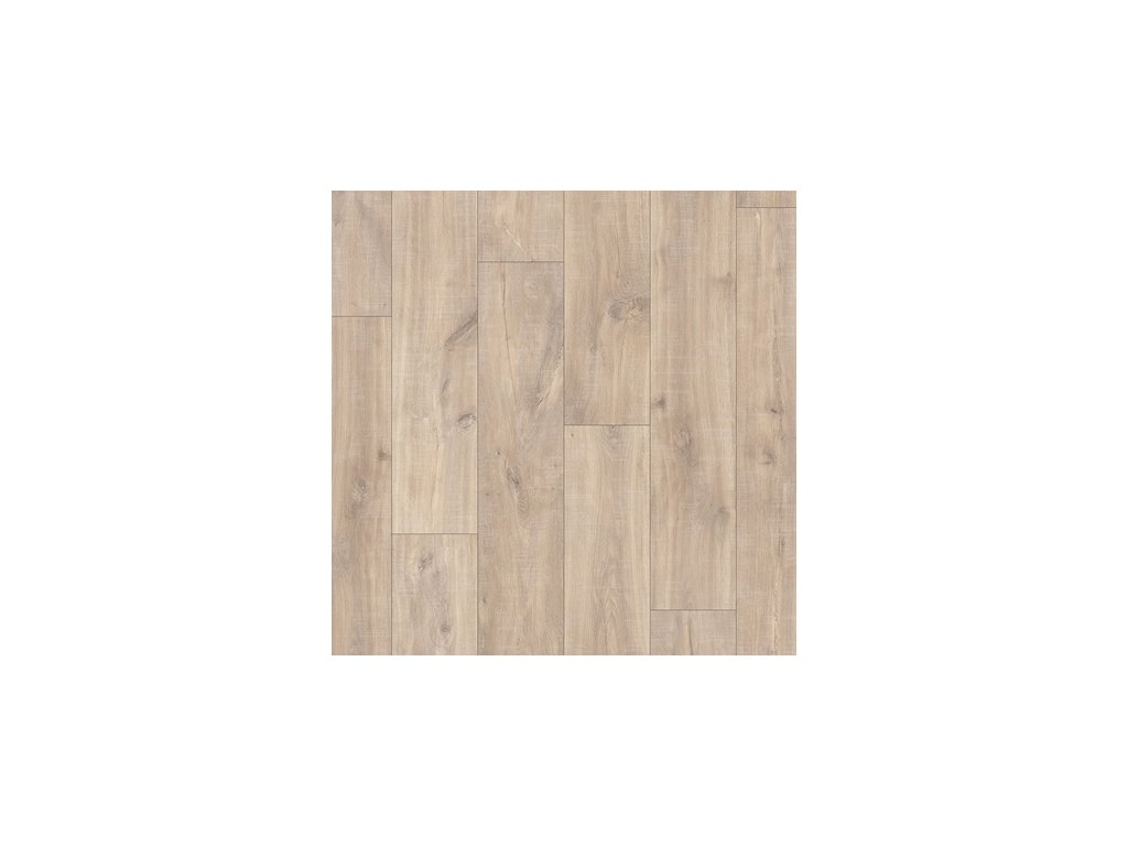 Laminátová podlaha - Dub havanna přírodní s řezy po pile CLM1656 (Quick Step)