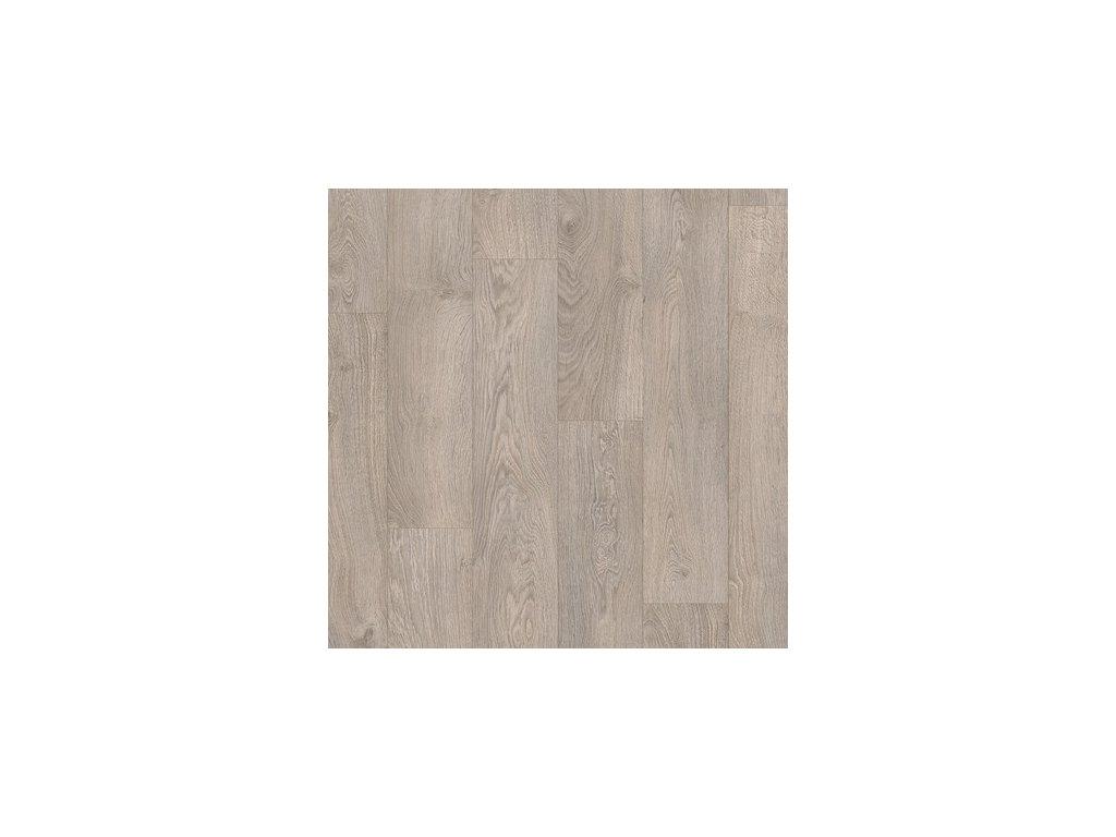 Laminátová podlaha - Dub letitý světlešedá CLM1405 (Quick Step)