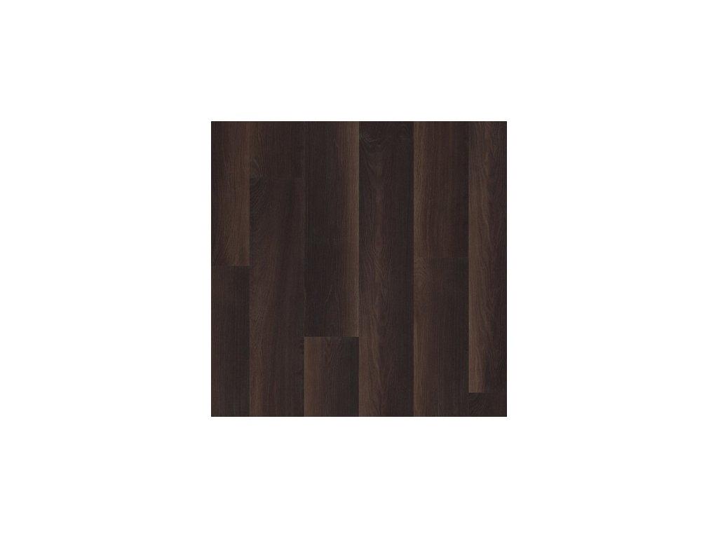 Laminátová podlaha - Dub kouřový tmavý prkno UW1540 (Quick Step)