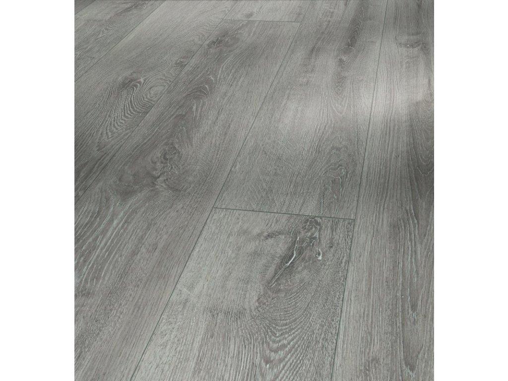 Laminátová podlaha - Dub šedý světlý 4V 1593852 (Parador)