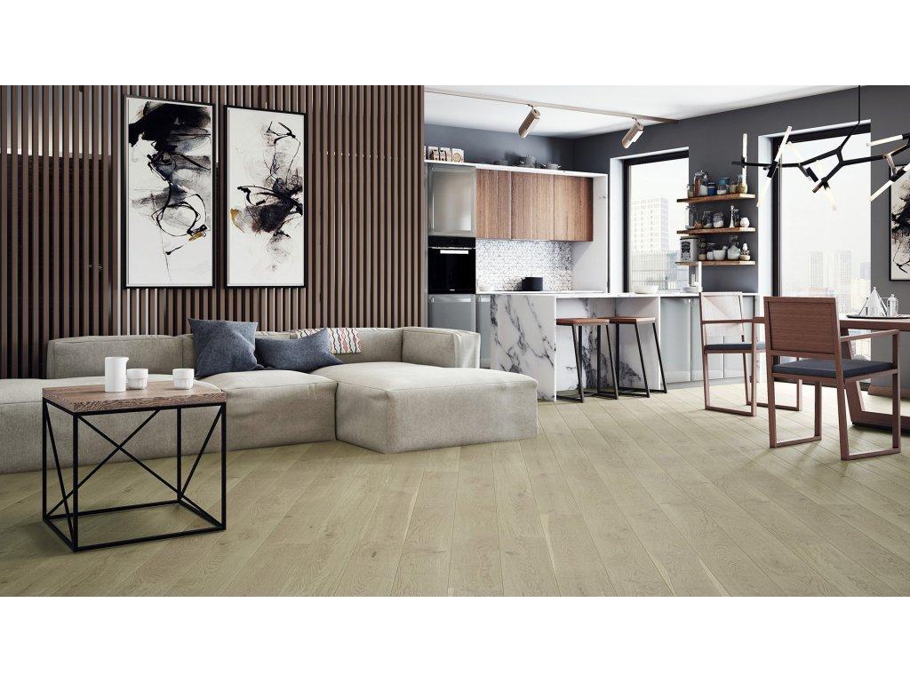 Dřevěná podlaha - Dub Nude Grande (Barlinek)