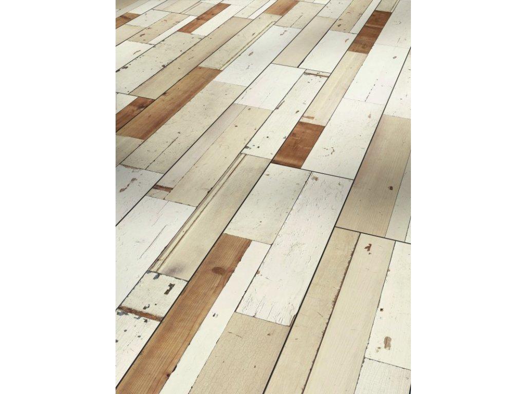 Laminátová podlaha - Brushboard white 1567475 (Parador)