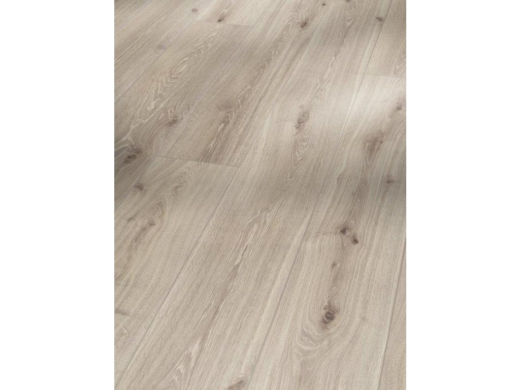 Laminátová podlaha - Dub Castell bíle lazurovaný 4V 1473985 (Parador)