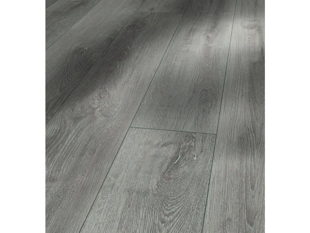 Laminátová podlaha - Dub šedý světlý 4V 1357370 (Parador)