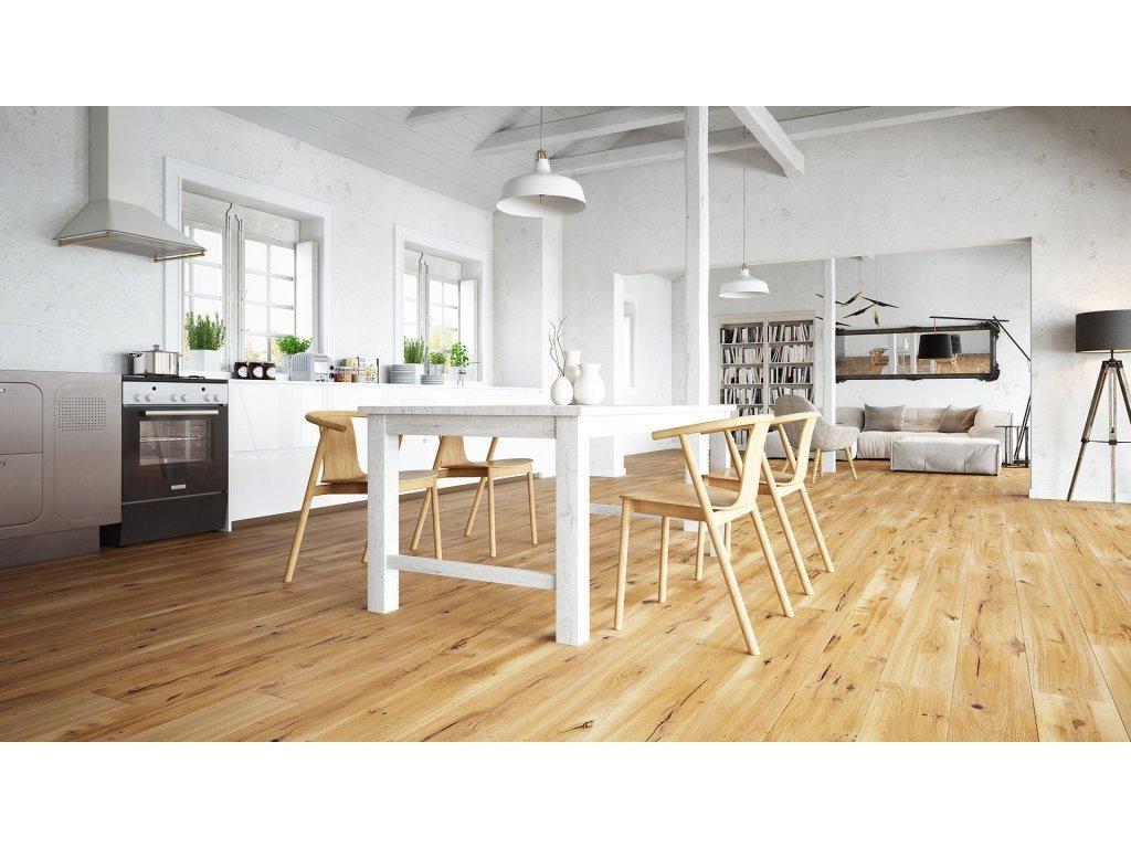 Dřevěná podlaha - Dub Calvados Grande (Barlinek)