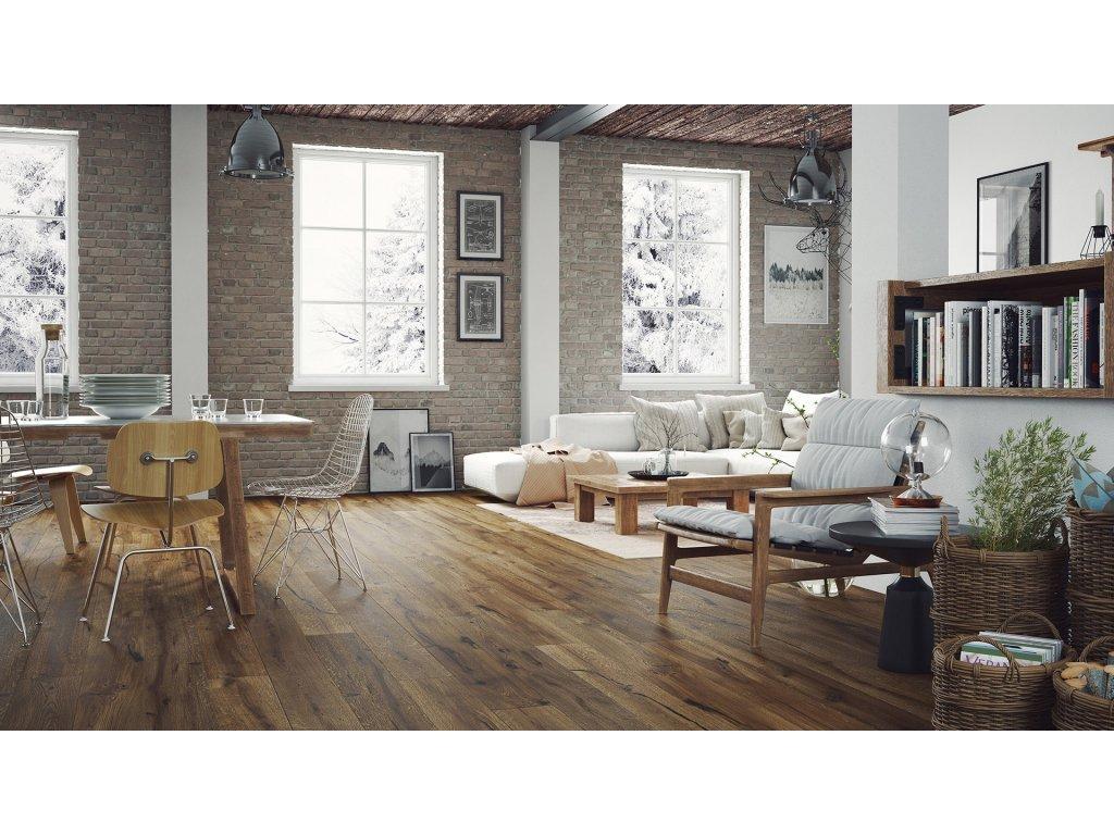 Dřevěná podlaha - Dub Porto Grande (Barlinek)