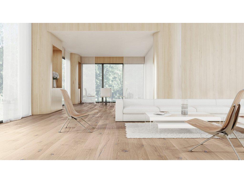 Dřevěná podlaha - Dub Sense Senses (Barlinek)