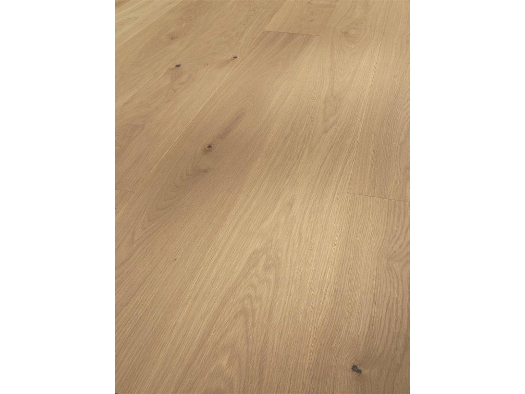 Dřevěná podlaha - Dub Pure Classic 1595165 lak (Parador) - třívrstvá