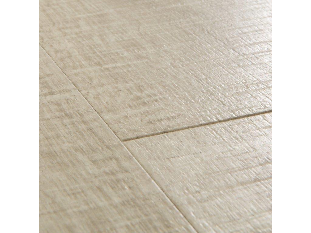 podlaha laminatova Quick Step Impressive dub bezovy se zarezy po pile IM1857