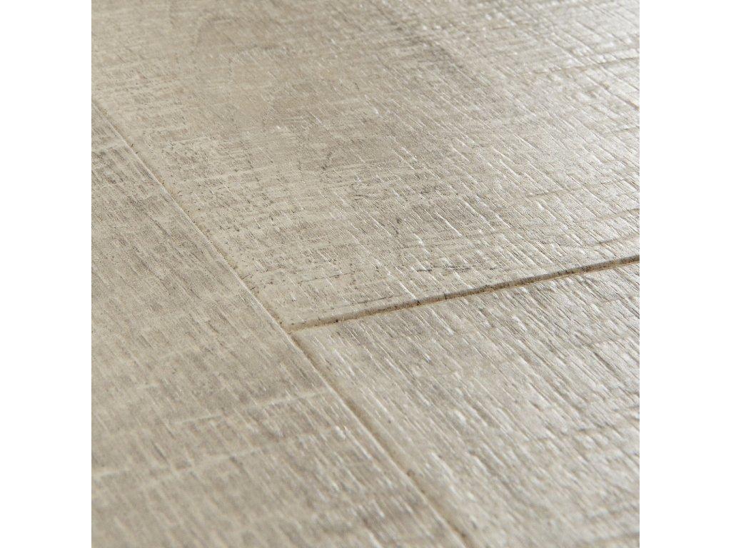 podlaha laminatova Quick Step Impressive dub sedy se zarezy po pile IM1858