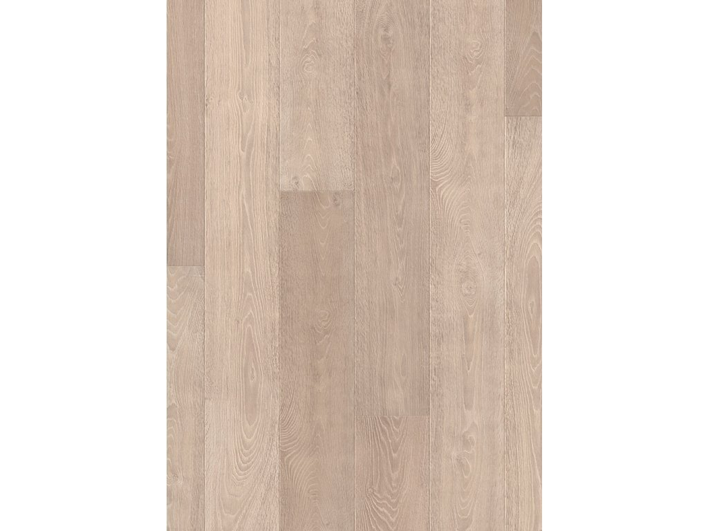 laminatova podlaha Quick Step Largo dubova prkna bila vyberova LPU1285