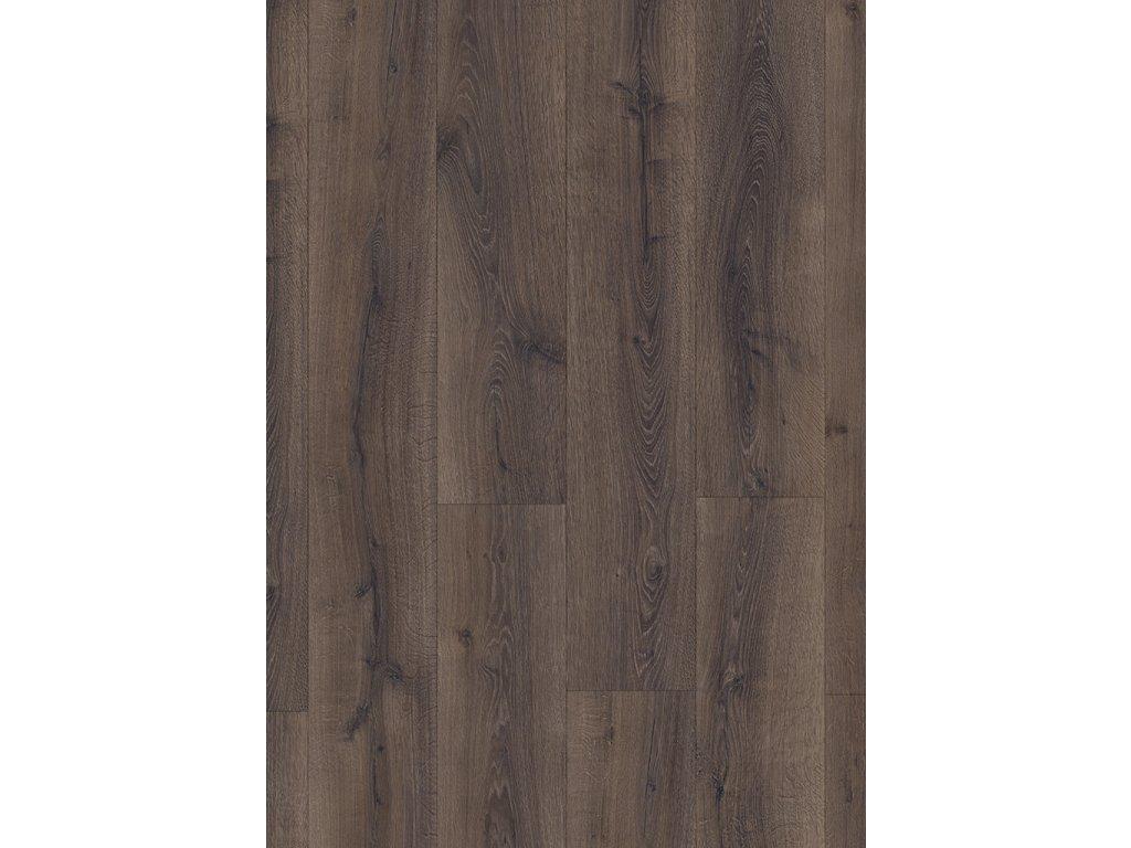 podlaha laminatova Quick Step Majestic poustni dub kartacovany tmave hnedy MJ3553 1