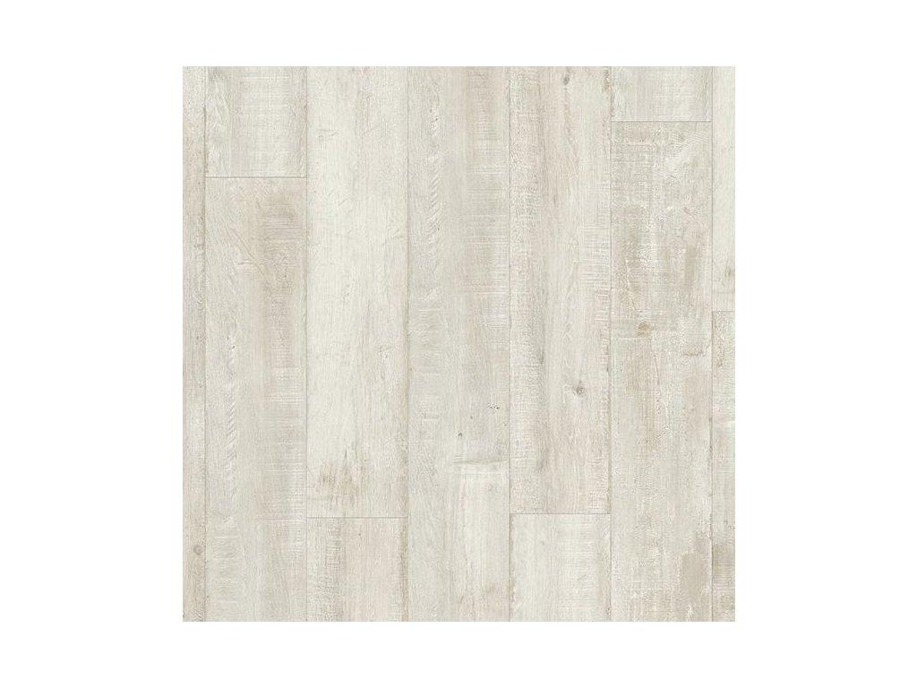 Vinylová podlaha - Řemeslná prkna šedá balance click BACL40040 (Quick Step)