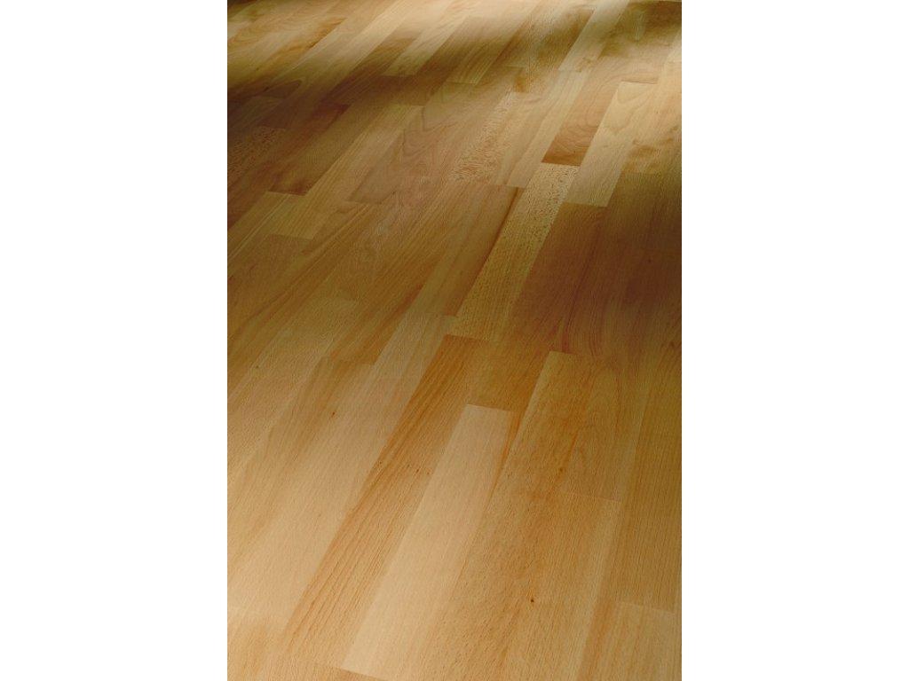 Dřevěná podlaha - Buk Natur 1518088 lak (Parador) - třívrstvá