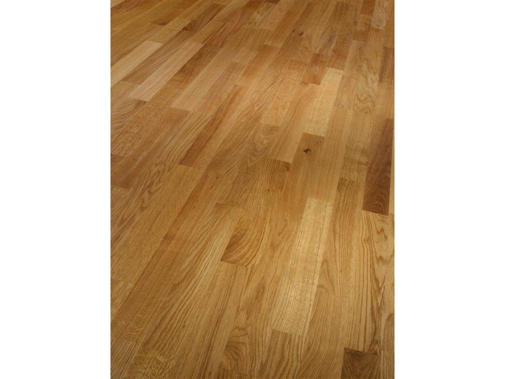 Dřevěná podlaha - Dub Natur 1518101 lak (Parador) - třívrstvá