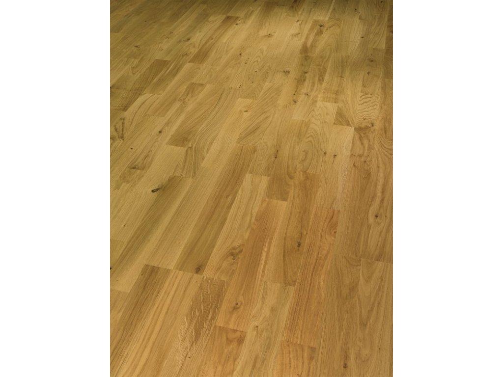 Dřevěná podlaha - Dub sukovitý Living 1518102 lak (Parador) - třívrstvá
