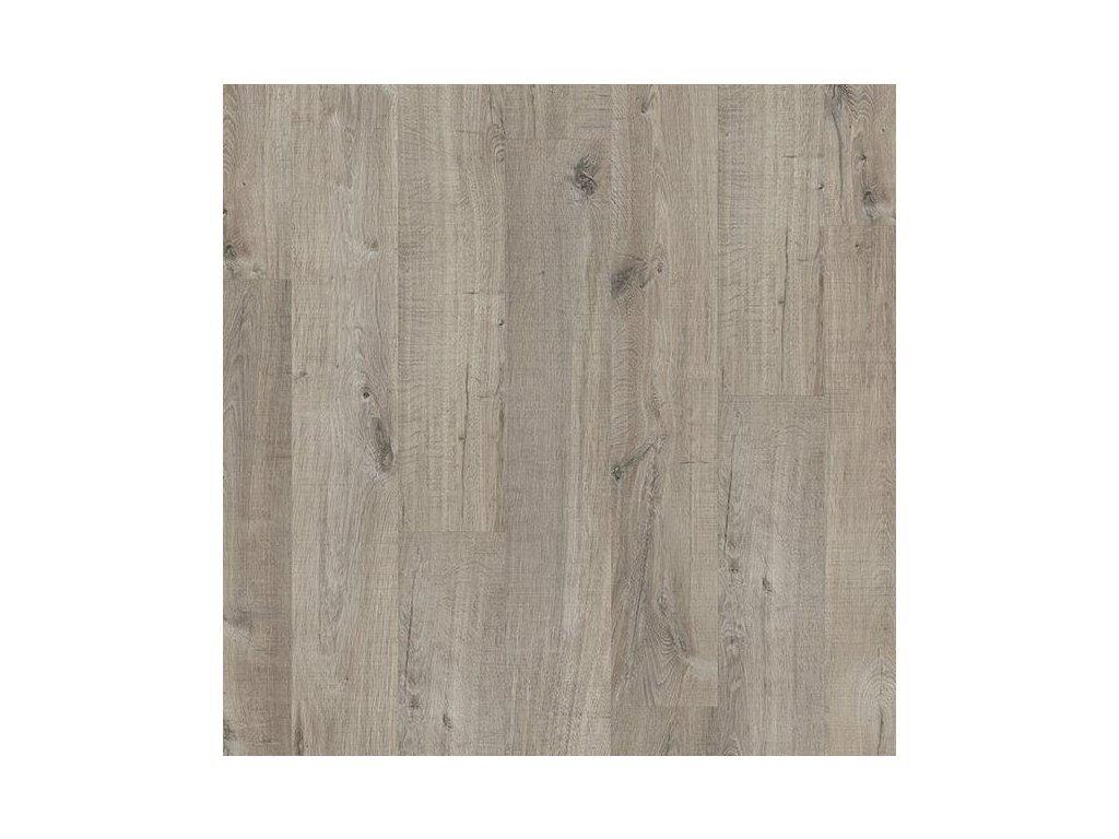 vinylova plovouci podlaha quick step livyn pulse click dub bavlna sedy s rezy pilou pucl40106