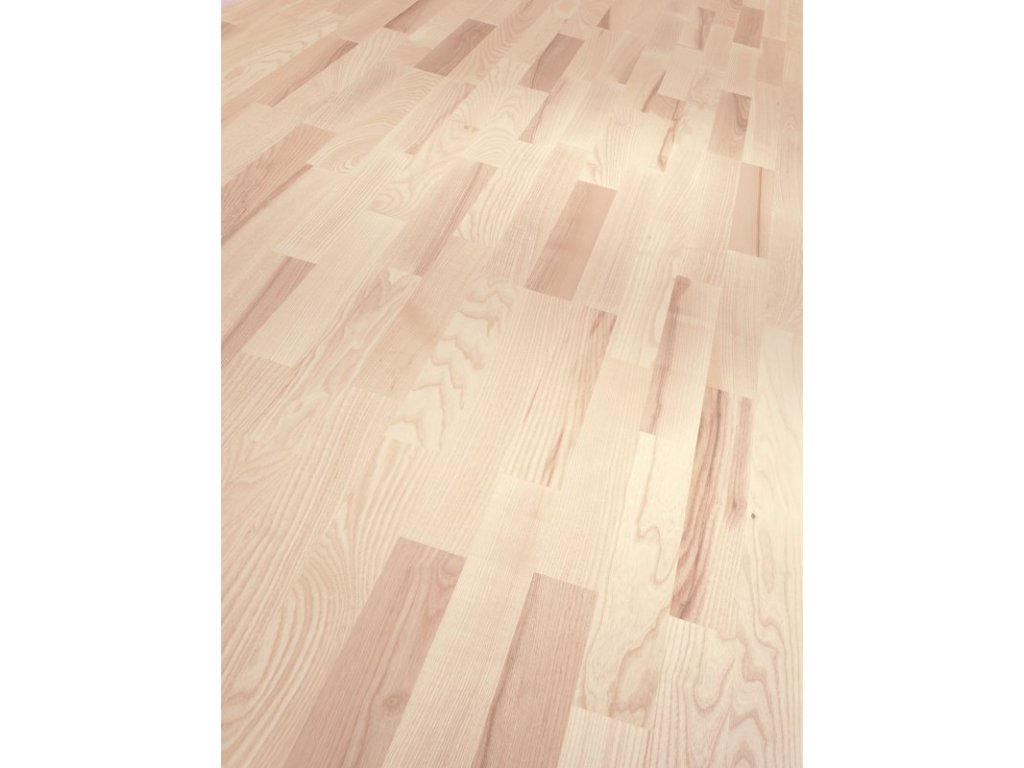 Dřevěná podlaha - Jasan Living 1270338 lak (Parador) - třívrstvá