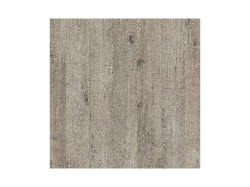 vinylova plovouci podlaha quick step livyn pulse glue v4 dub bavlna sedy s rezy pilou pugp40106