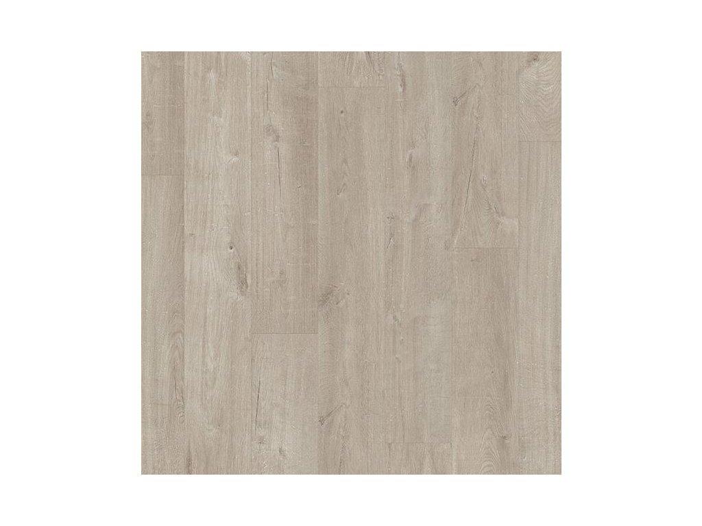 vinylova plovouci podlaha quick step livyn pulse glue v4 dub bavlna teply sedy pugp40105