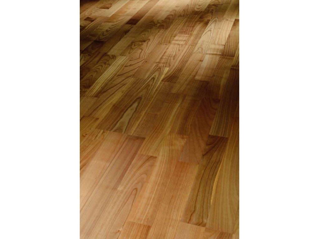 Dřevěná podlaha - Třešeň evropská pařená Natur 1518115 lak (Parador) - třívrstvá
