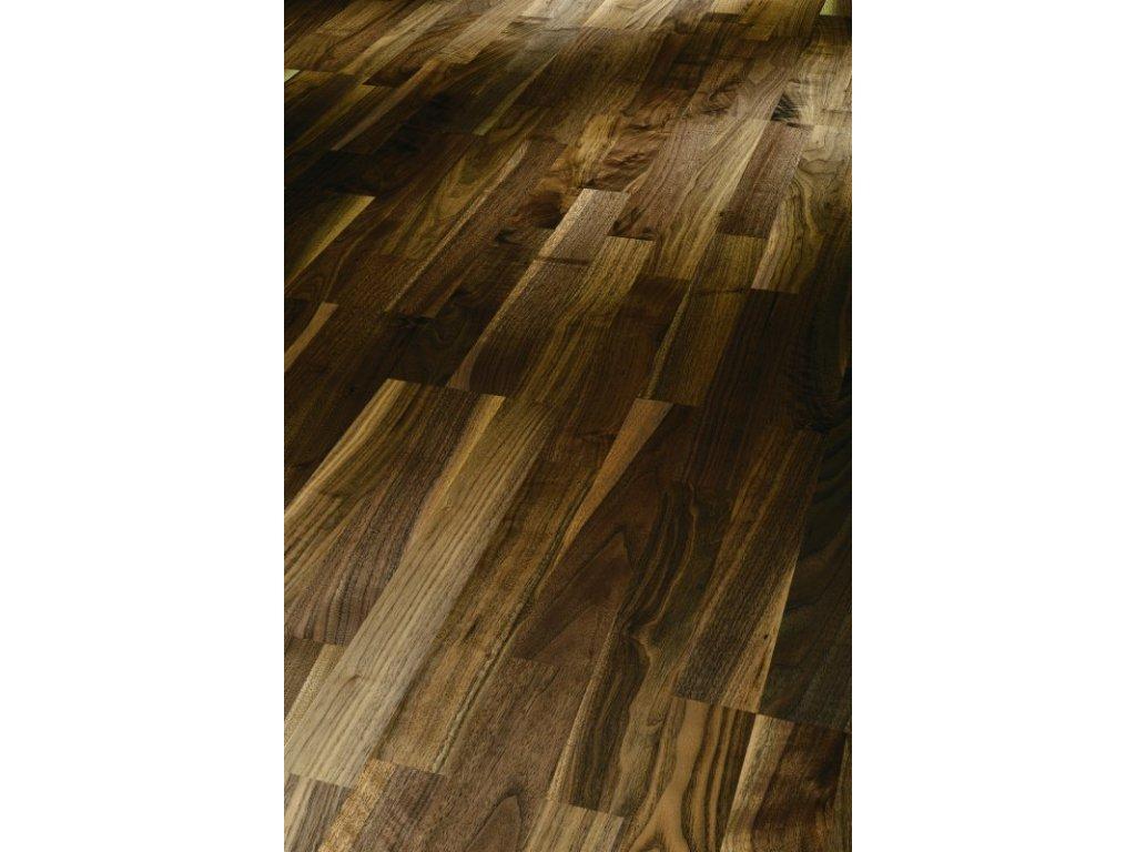 Dřevěná podlaha - Vlašský ořech Natur 1518117 lak (Parador) - třívrstvá