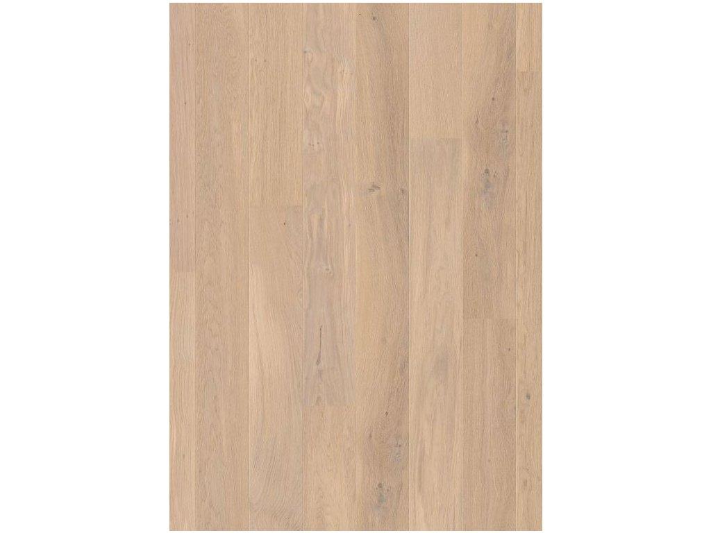 Dřevěná podlaha - Dub bílý himalájský extra matný COM3098 lak (Quick step) - třívrstvá